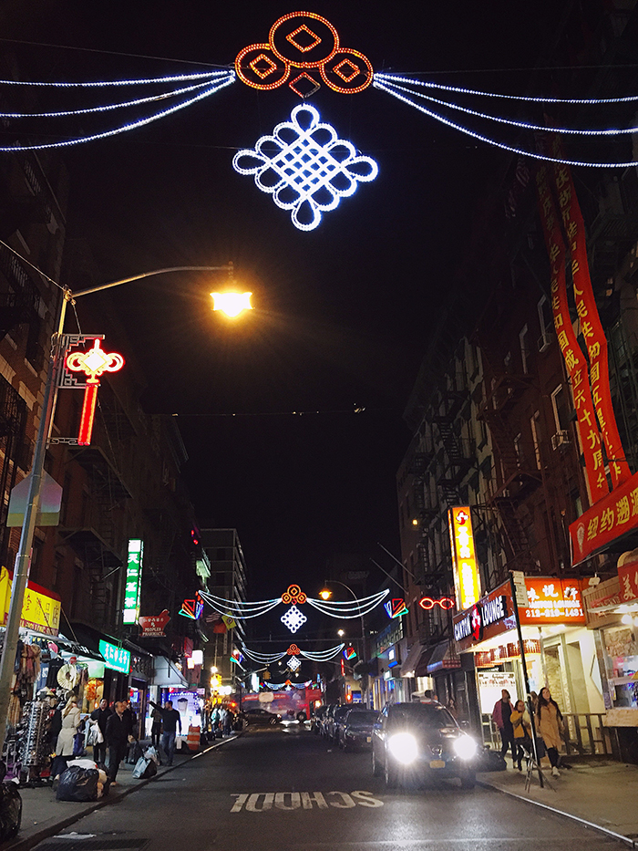 Chinatown by night.