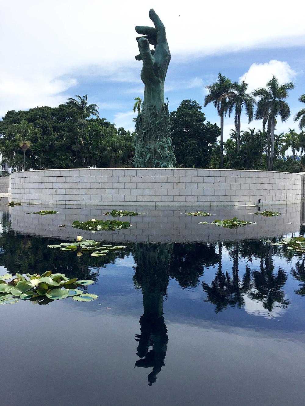 Holocaust Memorial in Miami Beach.