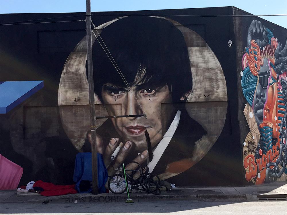 George Harrison Art in Wynwood