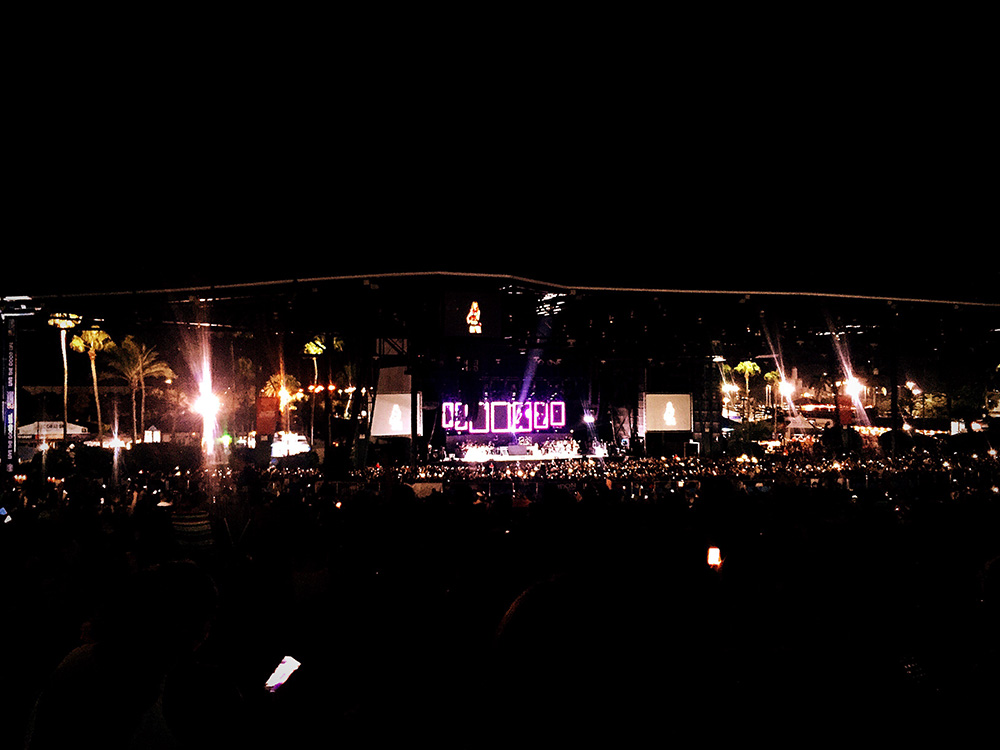 Amy Lee live in concert with a symphony orchestra