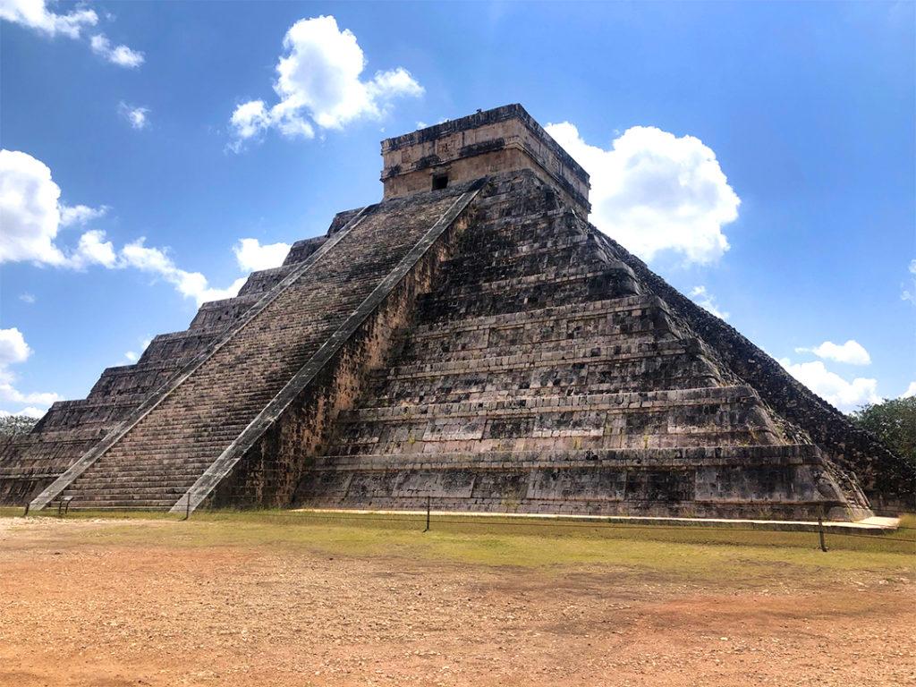 Die Pyramide des Kukulkan